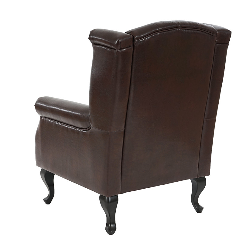 læder chaiselong stol